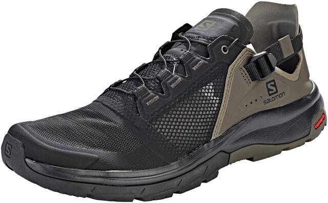 Salomon Techamphibian 4 Zapatillas Hombre, black/beluga/castor gray